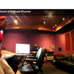 """Busta Rhymes Tells Bow Wow """"This Is His 1st Grown Man Album"""" (In Studio)"""