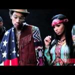 Taylor Gang's Wiz Khalifa, Juicy J, Chevy Woods & Lola Monroe The Source Magazine Photoshoot (Video)