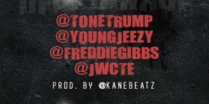 """Real Niggaz"" Single Artwork for Tone Trump"
