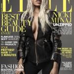 Nicki Minaj Covers April 2013 of US Elle magazine.