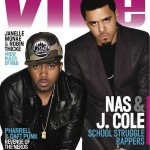 Nas & J.Cole ,Janelle Monae & Robin Thicke On The Cover Of VIBE Magazine 20th Anniversary