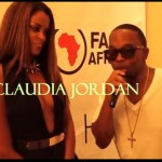 Claudia Jordan Talks w/ A1HipHop (Video)