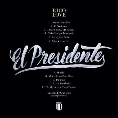 el-presidente-tracklisting