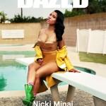 Nicki Minaj On The Cover Of Dazed Mag