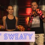 Riff Raff Shows Off His Boxing Skills w/ Emily Oberg (Video)
